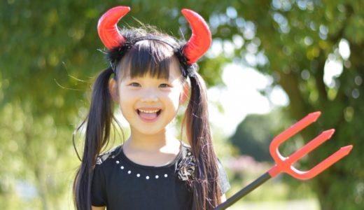 ハロウィンに女の子に着せたい!子供の魔女&ドラキュラ&悪魔コスプレセット8選!
